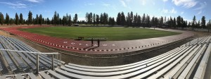 A new track and multi-sport field were installed throughout the summer and completed in September 2016 thanks to the passing of the Sisters School Bond in May.