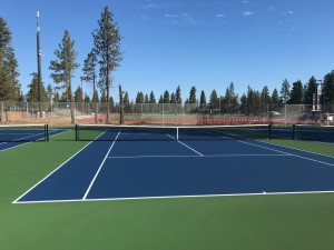 The passing of the 2016 School Bond facilitated the construction of the new SSD Tennis Courts. Completed September 2016.
