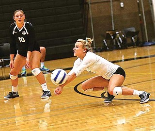 Volleyball Nabs League Title