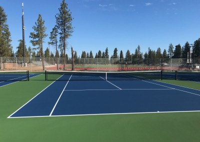 Sisters School District Tennis Courts