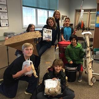 Students hone skills, help animals