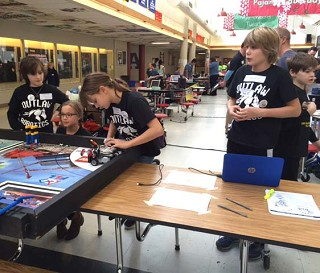 Lego® Robotics team wins state berth