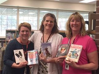 Volunteers make school libraries vibrant